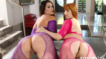 Penny Pax in 'Laudable Lesbians Give Fishnets A Good Name'